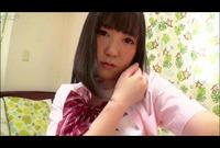 エロカワ制服娘♥指だけで何度もイキまくるオナニー【自画撮り】Vol.06
